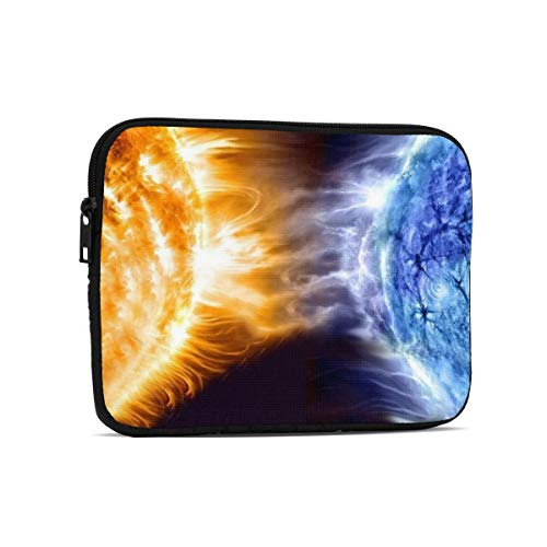 Fire Water Space Tablet Bag, Premium Universal Sturdy Shockproof Laptop Sleeve, Notebook Case Protective Handbag Fit 7.9'/9.7' Tablets/Ipads/Readers