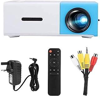 ZLSANVD Portable Projector YG300 Mini Portable Home LED 1080P HD Projector 1920 * 1080 Resolution Video Projector for Livi...