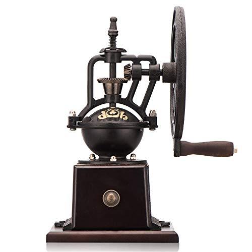 TRER handmatige molen vintage reuzenwiel vorm koffiemolen startpagina koffiezetapparaat