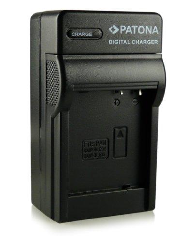 PATONA 4in1 Ladegerät für DMW-BLG10 DMW-BLG10E Akkus kompatibel mit Panasonic Lumix DMC-GF3 DMC-GF5 DMC-GF6 DMC-GX7 DMC-LX100 und weitere