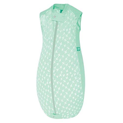 ergoPouch Schlafsack Baby Jersey, 100% Bio Baumwolle - TOG 0.3, Grün, 2-12 Monate (80cm)