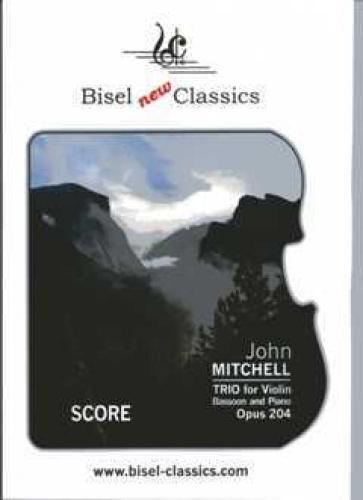 Trio op.204 : für Fagott, Violine und Klavier Partitur