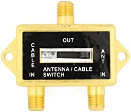Wideskall Gold Plated 5-900 MHz 100dB Coaxial A/B Switch