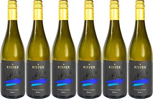 Kiefer Chardonnay Spätlese 2018 Trocken (6 x 0.75 l)