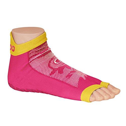 Ockyz Sweakers Character Pink - Anti-Rutsch Schwimmsocken - Fester Halt in Schwimmbädern und das offene Design sorgen für optimale Mobilität - (23-36)