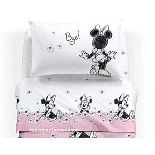 Caleffi Disney Completo Lenzuola 1 Piazza Minnie Ciao
