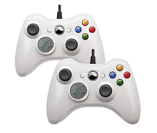 LOGO YCBHD Carpeta de Juego USB con Cable de vibración Gamepad for PC Controller for Windows 7/8/10 no for Xbox 360 Joypad Gamepad (Color : Yellow)