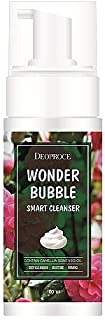 Deoproce, Wonder Bubble Smart Cleanser, Camella Japonica Seed Oil, Deep Cleansing, Moisturizing, Firming, Soothing, Glossy Skin. 5 OZ