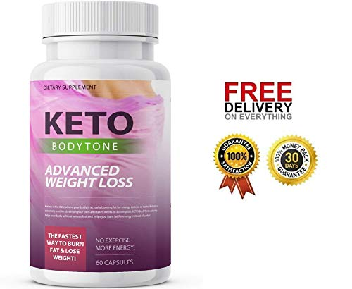 Keto BODYTONE - Advanced Weight Loss - 60 Capsules - 1 Month Supply