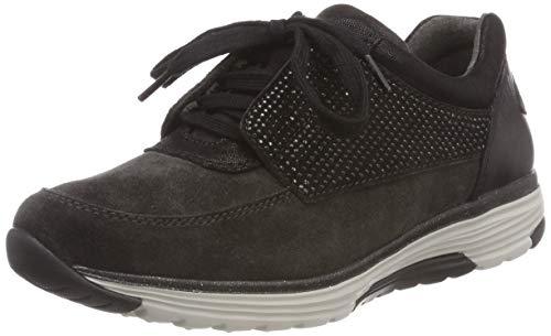 Gabor Shoes Damen Rollingsoft Derbys, Grau (Dk Grey/Schwarz 39), EU