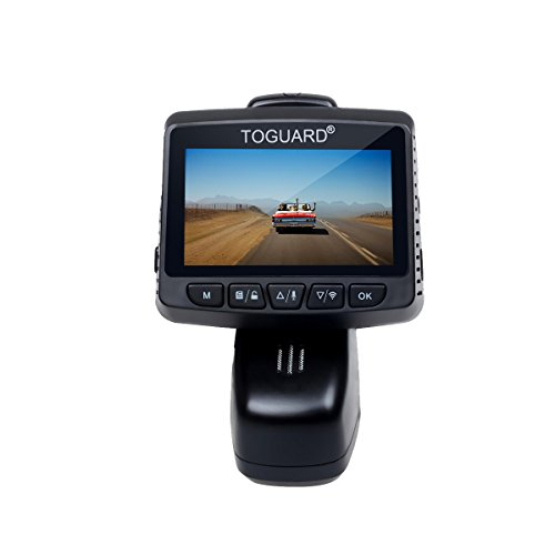 "TOGUARD Dash Cam,WiFi Dashboard Camera,Stealth Full HD 1080P Dash Camera,170 Degree Wide Angle Lens, 2.45"" IPS LCD,Car DVR Road Video Recorder, Loop Recording, HDR, Parking Monitor"