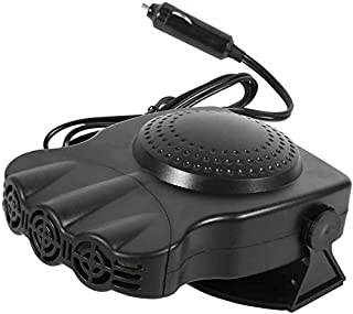 Portable Car Defroster Defogger,2-in-1 Car Heater with Cooling&Heating Function,12V 150W Windshield Heater Plugs into Ciga...