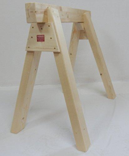 Holzböcke/Arbeitsböcke (H 80 cm x B 85 cm)