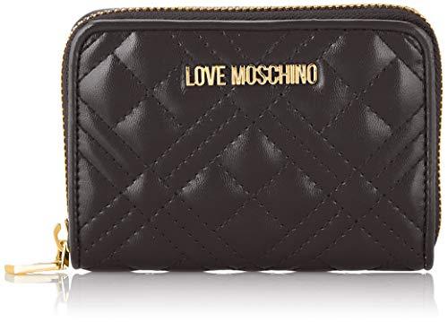Love Moschino Damen Jc5622pp0a Geldbeutel, Schwarz (Black), 2.5x10x13 Centimeters