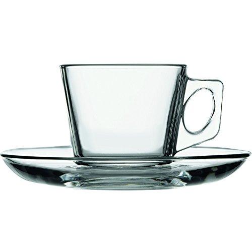 12tlg. Set Espressotassen mit Unterteller Vela
