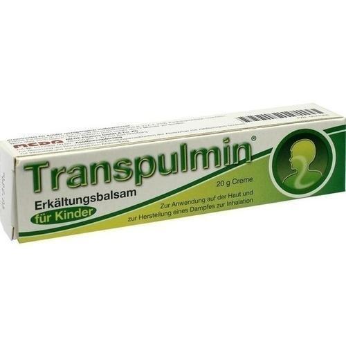Transpulmin Erkältungsbalsam für Kinder, 20 g