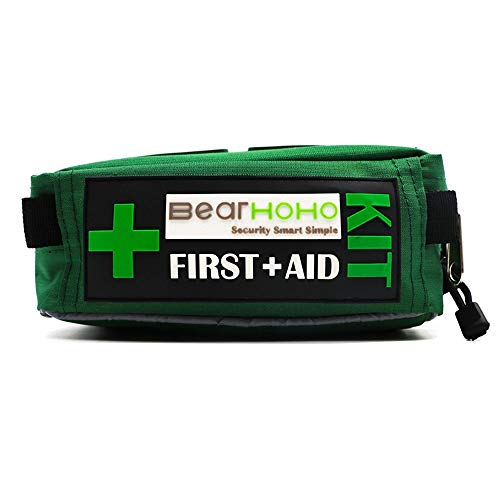 HYRL Kit di Pronto Soccorso per Terremoti Kit di Pronto Soccorso per Emergenze, Kit di Pronto Soccorso da 165 Pezzi...