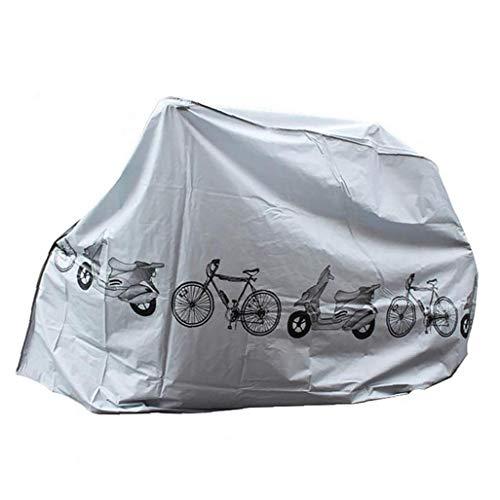 Cubiertas de la bicicleta contra el polvo y la lluvia de protección UV impermeable de la bicicleta cubierta interior exterior gris productos