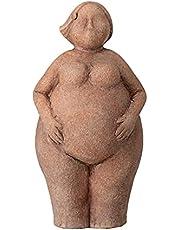 Bloomingville Sidsel decoratief sculptuur, bruin LxBxH 13x10x25cm