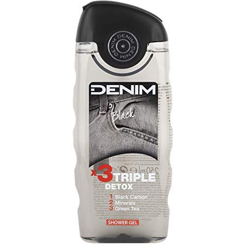 Denim Black Shower Gel 250ml (Pack Of 3)