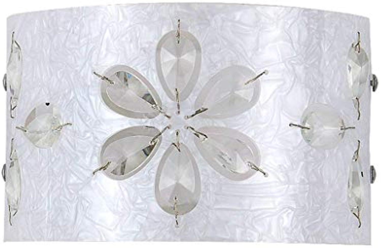 Wandleuchte Aluminium Eisen LED Schlafzimmer Schlicht silber