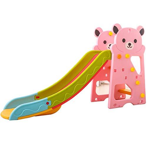 PNYGJQ Toboganes for niños Playsets Escalador interior for niños Toboganes y trepadores Playhouse Play Juego de juguetes de simulación Kindergarten juguetes for bebés hogar engrosamiento plástico larg