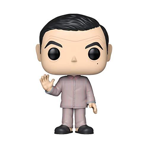 Pop! Figura de Vinilo: TV: Mr Bean - Mr Bean Pajamas w/Teddy Bear Chase