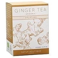 Natur Boutique Organic Ginger Tea 20 Sachet (order 6 for trade outer) / ナチュールブティックオーガニックジンジャーティーサシェ20 (商品外にするため6 )