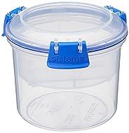Sistema Go Compact Breakfast Storage Container, 530 ml, Dark Blue