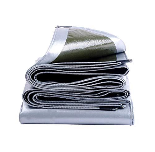 Bâche de Protection Toile de Protection Solaire imperméable pour bâche - 100% étanche et protégée Contre Les Rayons UV - 200g / m², épaisseur 0.35mm ZQG (Taille : 3 m x 3 m)
