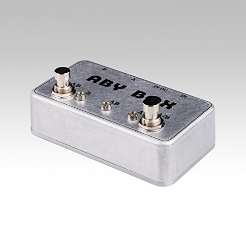 ABY Selecor Combiner Switch AB Box New Pedal Footswitch Amp / guitar AB
