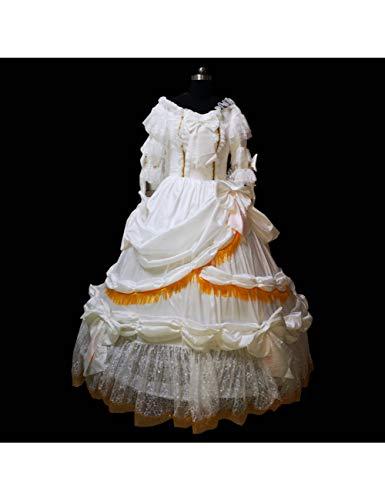 GBYAY Disfraces Blancos recreación Medieval Teatro Vestimenta Civil
