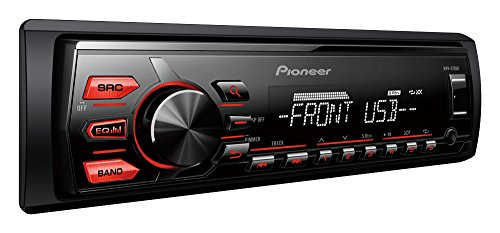Pioneer MVH-85UB Digital Media Receiver with USB Direct Control for Certain Android Phones