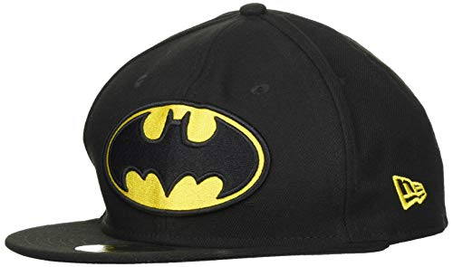 New Era Basic Superman, Snapback cap Unisex-Adulto, Navy Red Yellow, 7 1/2 (59.6 cm)