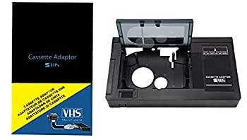 Cassette Adaptor camcorders svhs VHS-C to vhs ORIGINAL sealed factory