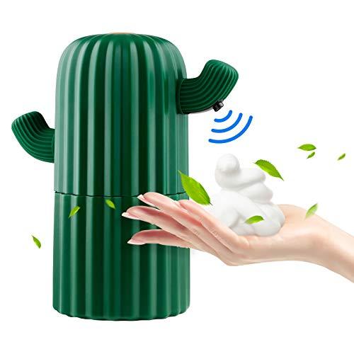 Automatischer Seifenspender, Berührungsloser Schaumspender, Infrarot Sensor Händedesinfektionsmittel Schaumspender Schaumspender Pumpe Wasserfeste Flasche für Badezimmer Küchenbüro