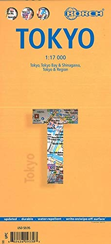 Tokio / Tokyo 1:17 000 (Borch Maps)