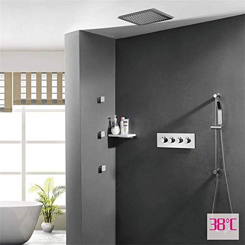 Fantastic Prices! WXQ-XQ Dark Mounted Wall Shower Set Hot and Cold Switch Control Valve Embedded Con...