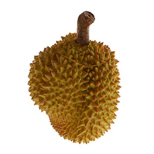 P Prettyia Modelo de Durian Frutas Artificiales para Exhibición de Fruterías Festival - do