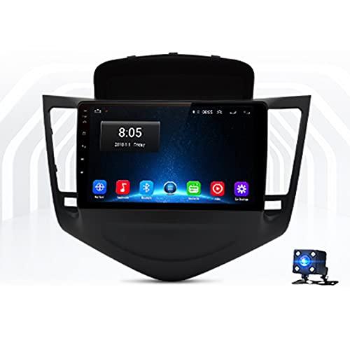 9'Android 10.0 2.5D Pantalla Táctil Radio Estéreo Para Automóvil Navegación Por Satélite Para Chevrolet Cruze 2008-2014 Soporte GPS Autoradio WiFi Bluetooth/Control Del Volante(Color:WIFI 1G+16G)