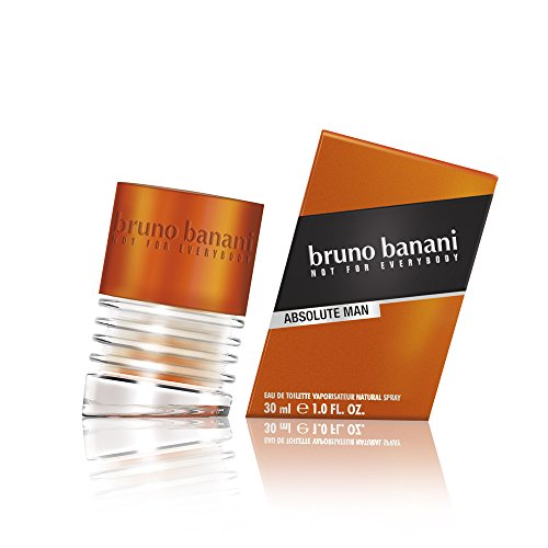 Coty Beauty Germany GmbH, Consumer Bruno banani absolute man - eau de toilette natural spray - aufregend-maskulines herren parfüm - 1er pack 1 x 30ml