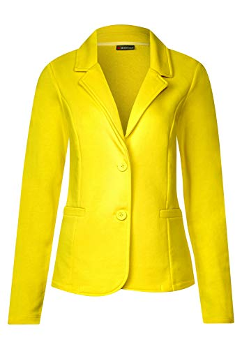 Americana amarilla para mujer