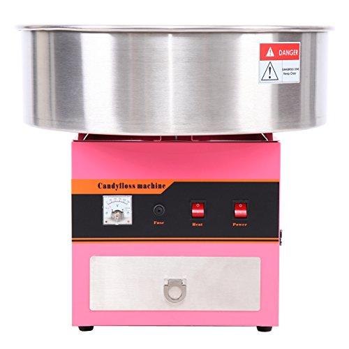 Iglobalbuy profi Zuckerwattemaschine,rosa Zuckerwatte Maschine für zuHaus