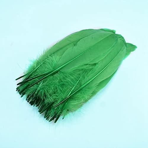 RedSunday- 100Pcs Lot Natural Goose for Plume Feathers DI Nippon regular agency Max 58% OFF Crafts