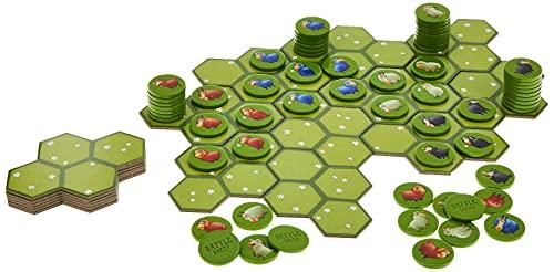 Battle Sheep Area Control Board Game