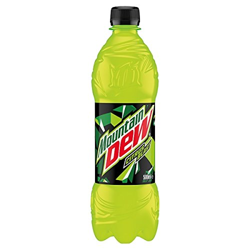 Mountain Dew Citrus Explosion 500 ml (Pack of 24 x 500 ml).