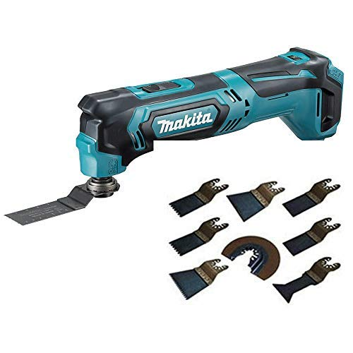 Makita TM30DZ 10.8V CXT Cordless Multi Tool Body with Extra 8 Piece Accessories Set