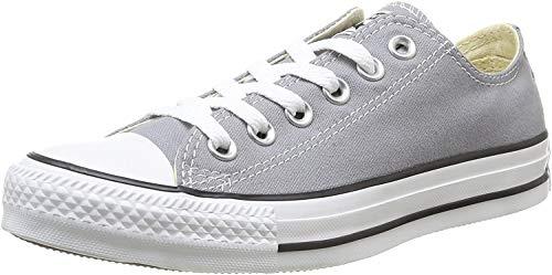 Converse Chuck Taylor All Star Ox, Unisex-Erwachsene Sneaker Grau grau 45