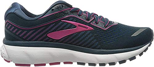 Brooks Women's Ghost 12 Running Shoes, Majolica Blue Beetroot, 6 UK (39 EU)