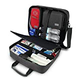 USA GEAR Medical Bag - Medical Supplies Bag for...